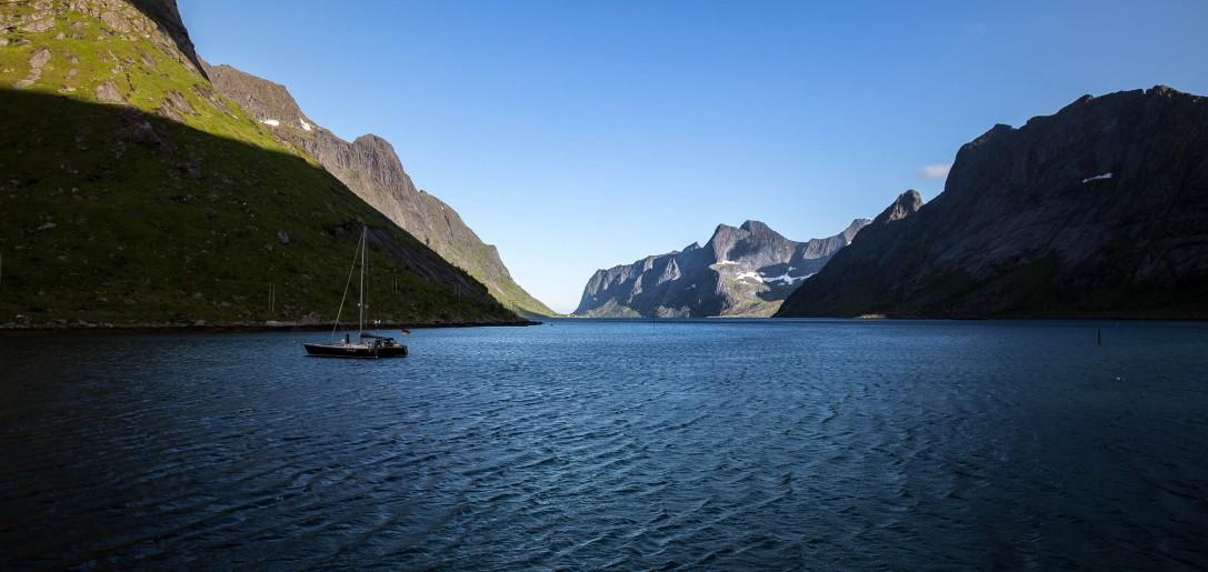 Lofoten, Kirkefjord I Norway