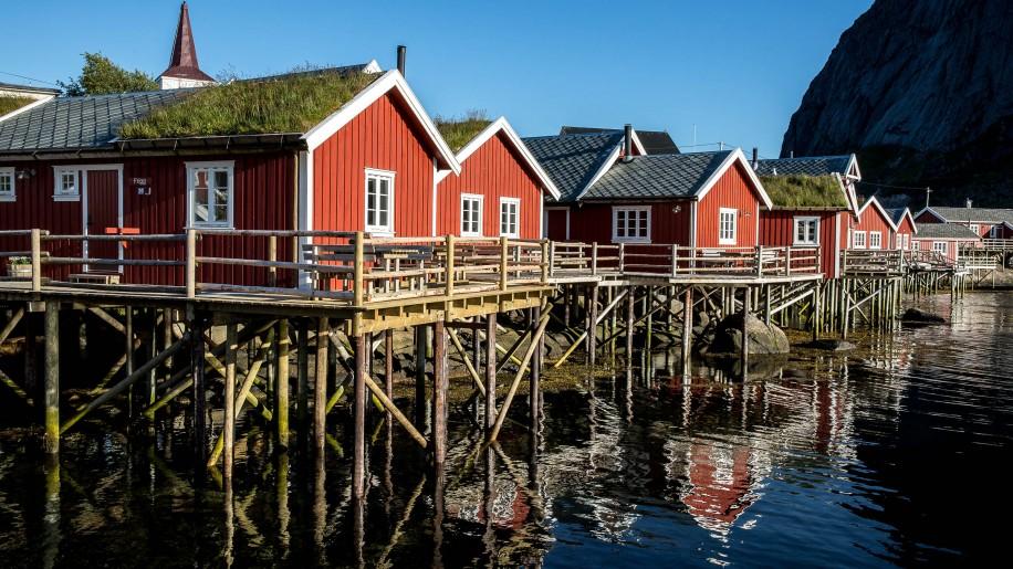 Lofoten, Reine I Norway
