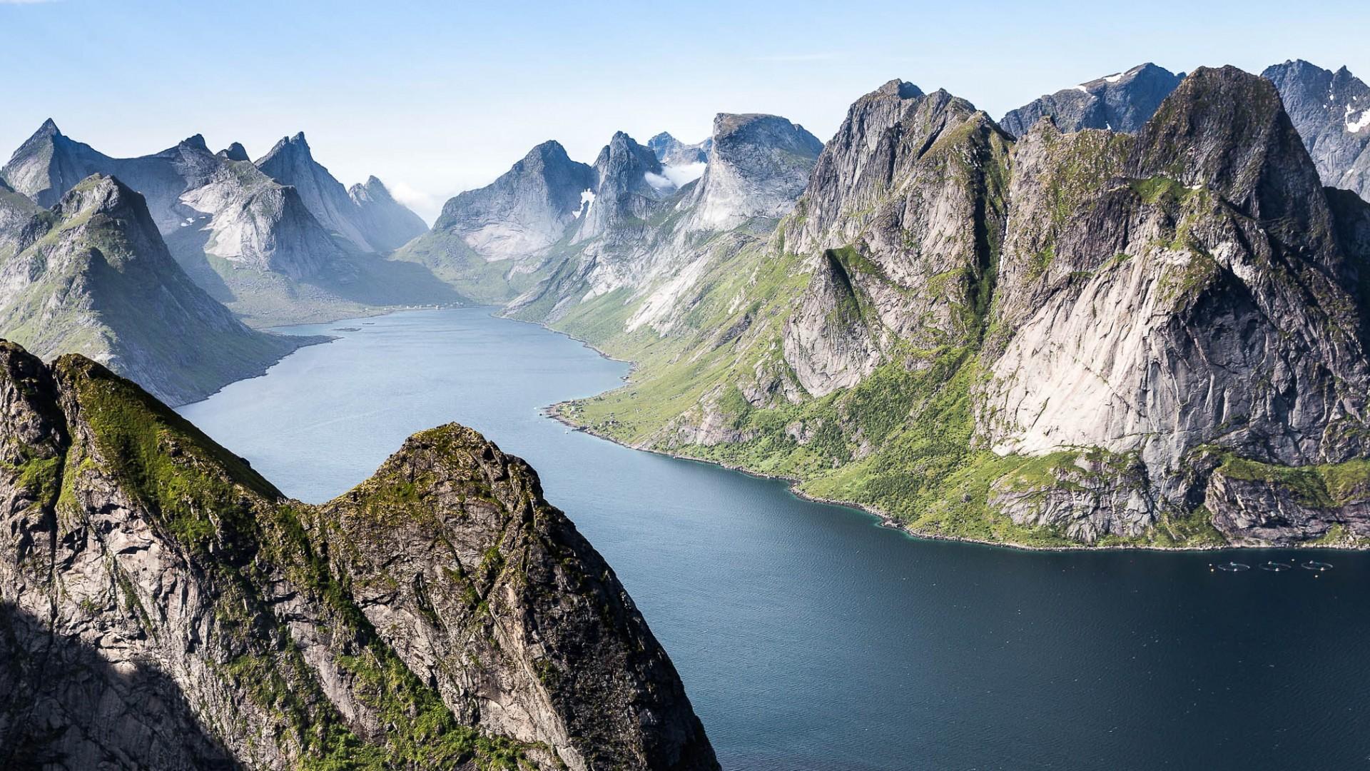 Lofoten, Reinebringen I Norway